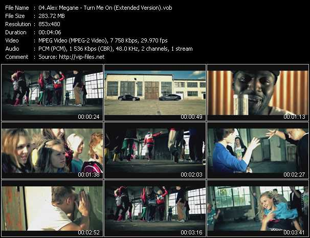 Alex Megane - Turn Me On (Extended Version)