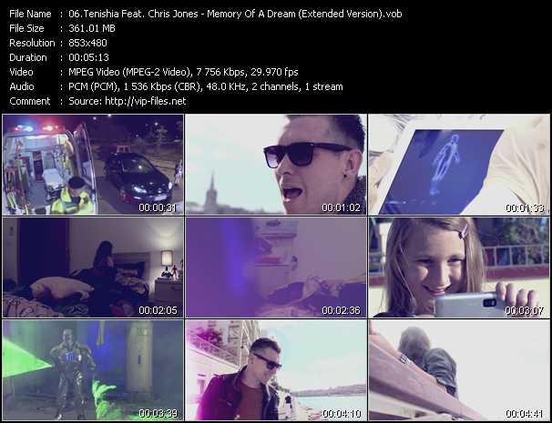 Tenishia Feat. Chris Jones - Memory Of A Dream (Extended Version)