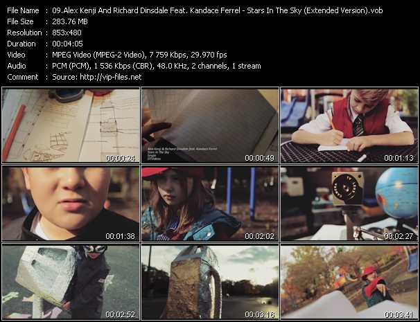 Alex Kenji And Richard Dinsdale Feat. Kandace Ferrel - Stars In The Sky (Extended Version)