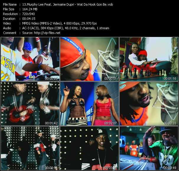 Murphy Lee Feat. Jermaine Dupri - Wat Da Hook Gon Be