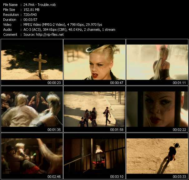 Pink - Trouble