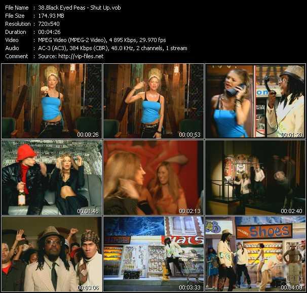 Black Eyed Peas - Shut Up