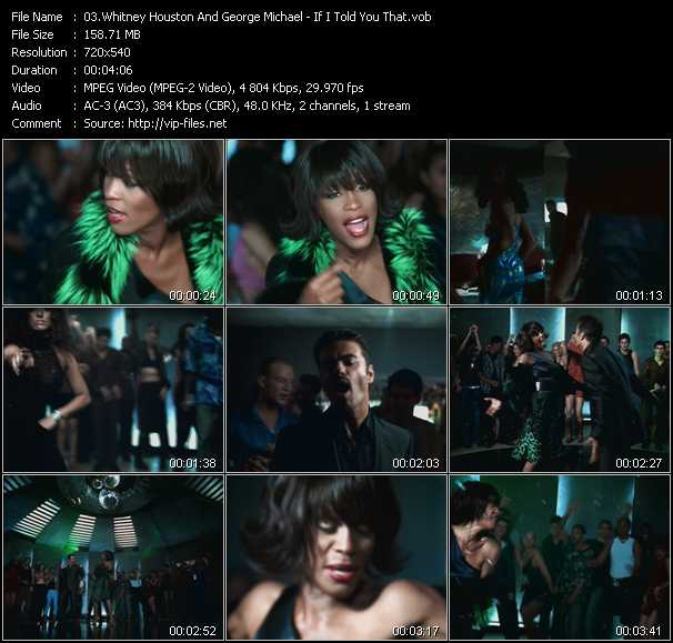 Whitney Houston And George Michael - If I Told You That