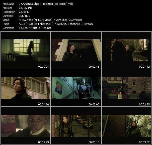 Amanda Ghost - Idol (Big Red Remix)