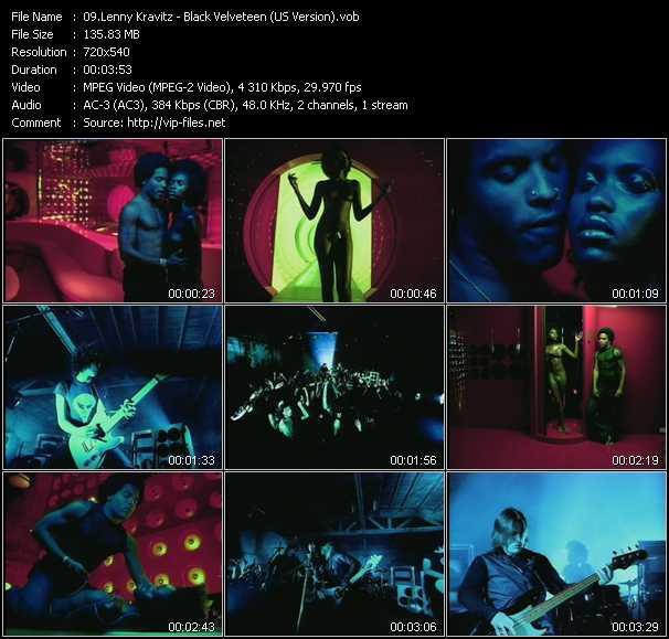 Lenny Kravitz - Black Velveteen (US Version)