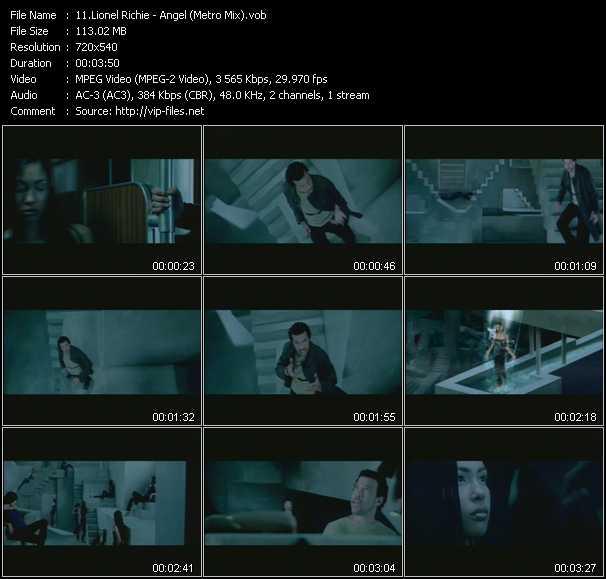 Lionel Richie - Angel (Metro Mix)