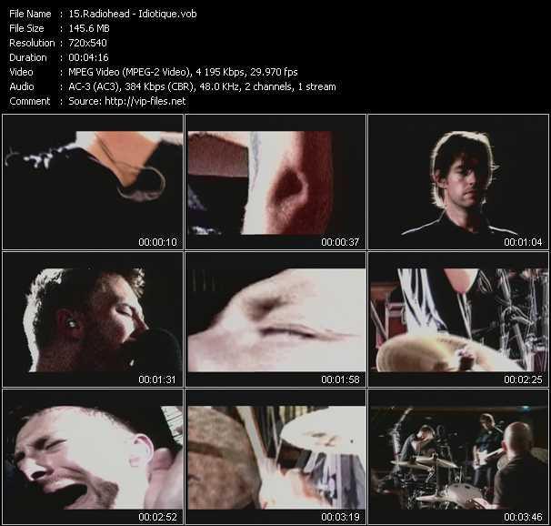 Radiohead - Idiotique