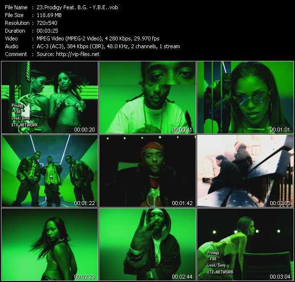 Prodigy Of Mobb Deep Feat. B.G. - Y.B.E. (Young Black Entrepreneurs)