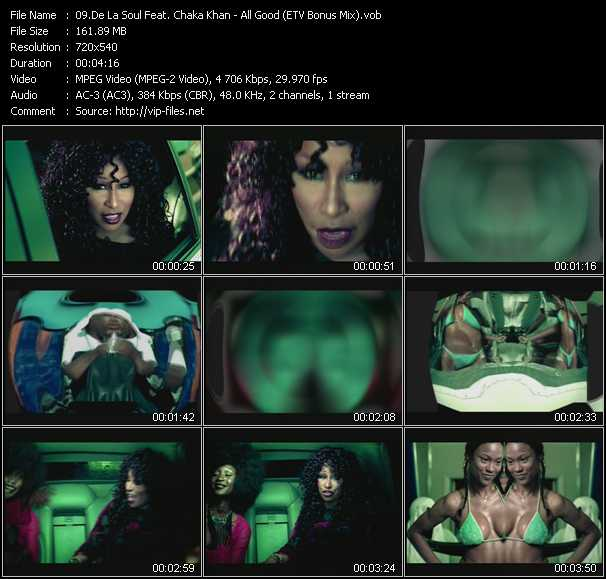De La Soul Feat. Chaka Khan - All Good (ETV Bonus Mix)
