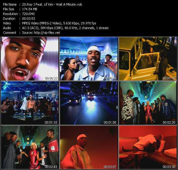 Ray J Feat. Lil' Kim - Wait A Minute