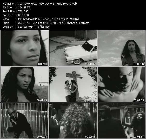 Photek Feat. Robert Owens - Mine To Give