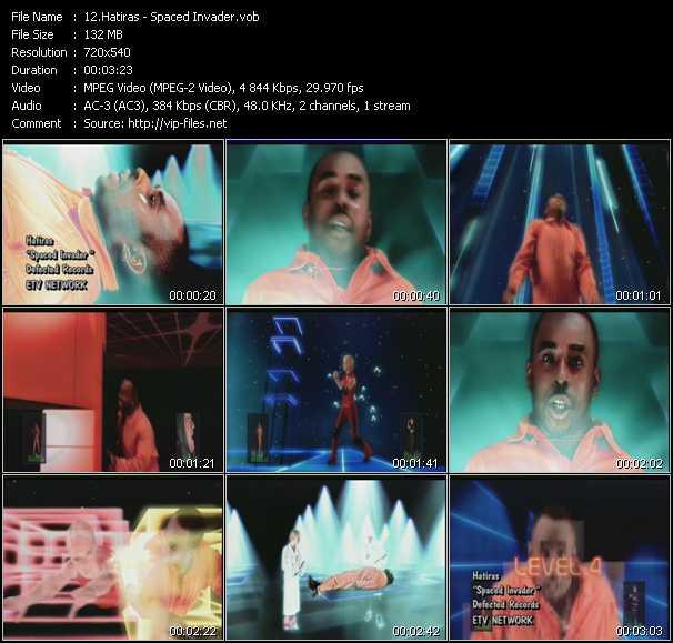 Hatiras Feat. Slarta John - Spaced Invader
