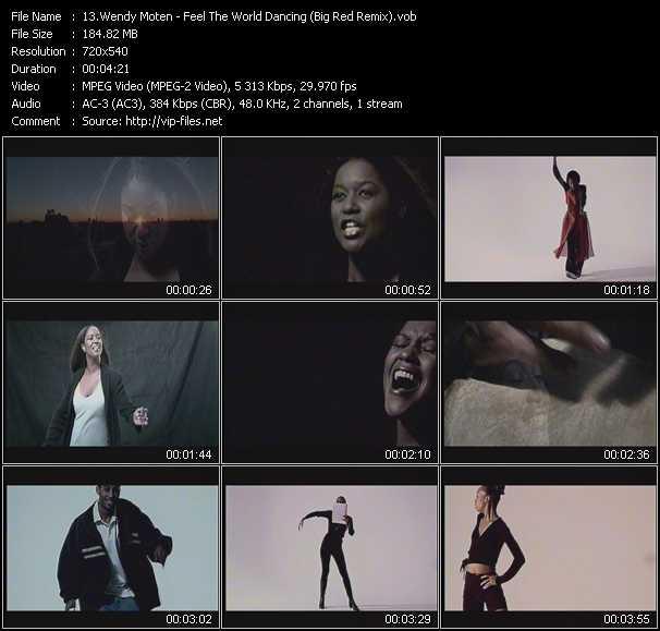 Wendy Moten - Feel The World Dancing (Big Red Remix)