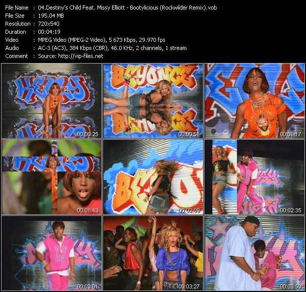 Destiny's Child Feat. Missy Elliott - Bootylicious (Rockwilder Remix)