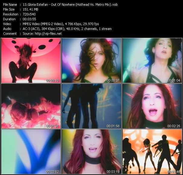 Gloria Estefan - Out Of Nowhere (Hothead Vs. Metro Mix)