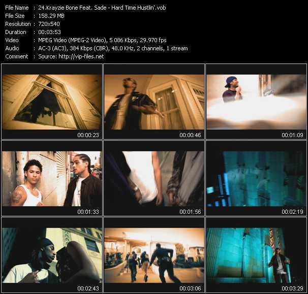 Krayzie Bone Feat. Sade - Hard Time Hustlin'