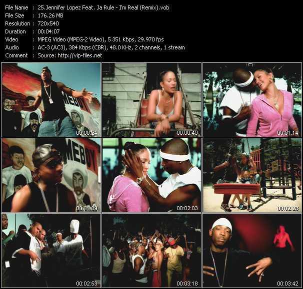 Jennifer Lopez Feat. Ja Rule - I'm Real (Remix)