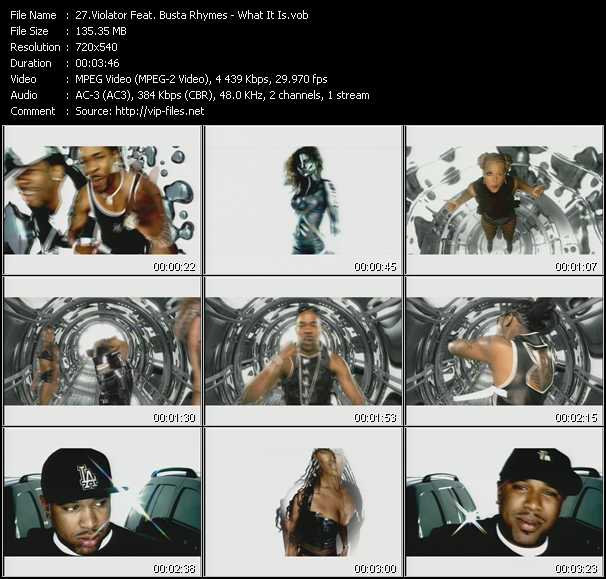 Violator Feat. Busta Rhymes - What It Is