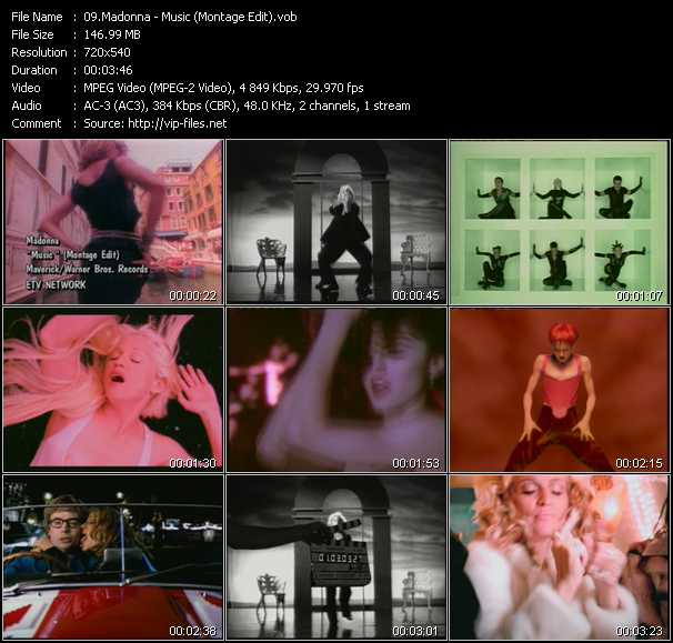 Madonna - Music (Montage Edit)