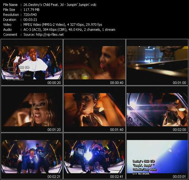 Destiny's Child Feat. Jd - Jumpin' Jumpin'