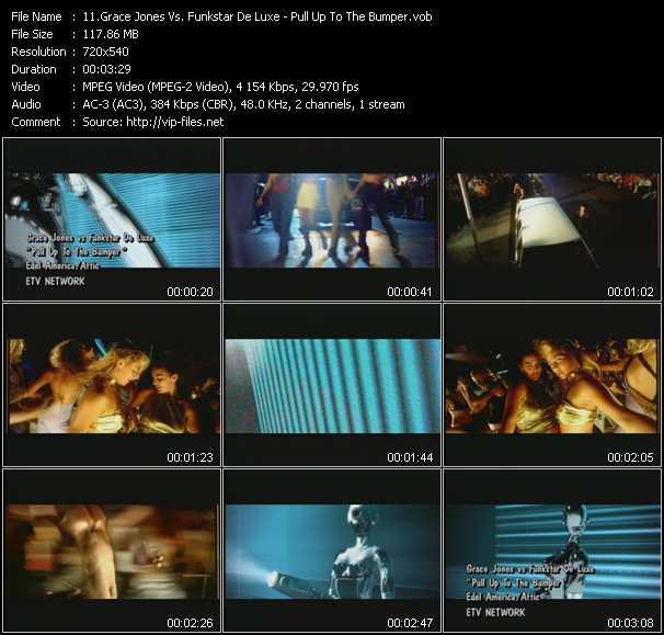 Grace Jones Vs. Funkstar Deluxe - Pull Up To The Bumper