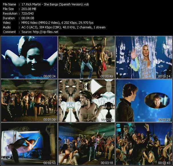 Ricky Martin - She Bangs (Spanish Version)