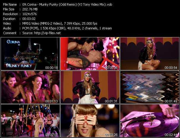Corina - Munky Funky (Odd Remix) (VJ Tony Video Mix)
