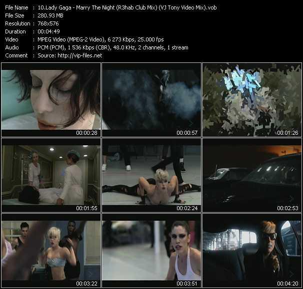 Lady Gaga - Marry The Night (R3hab Club Mix) (VJ Tony Video Mix)