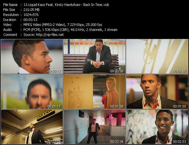 Liquid Kaos Feat. Kirsty Hawkshaw - Back In Time