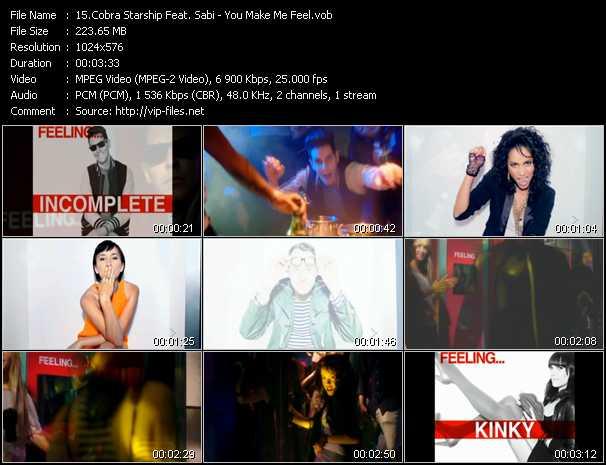 Cobra Starship Feat. Sabi - You Make Me Feel