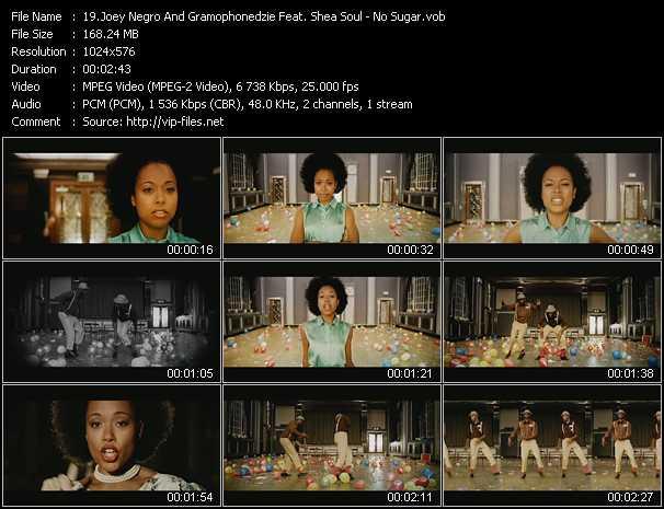 Joey Negro And Gramophonedzie Feat. Shea Soul - No Sugar