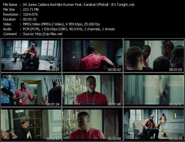 Junior Caldera And Nite Runner Feat. Kardinal Offishall - It's Tonight