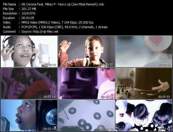 Corona Feat. Mikey P - Hurry Up (Javi Mula Rework)