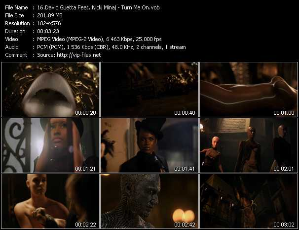 David Guetta Feat. Nicki Minaj - Turn Me On