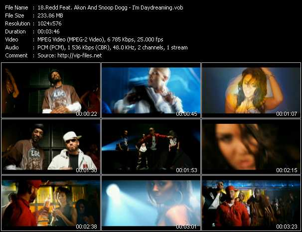 Redd Feat. Akon And Snoop Dogg - I'm Daydreaming