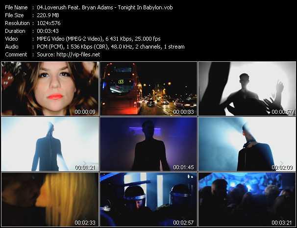 Loverush UK! Feat. B. Adams - Tonight In Babylon