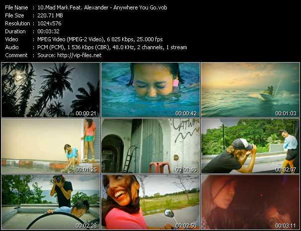 Mad Mark Feat. Alexander - Anywhere You Go