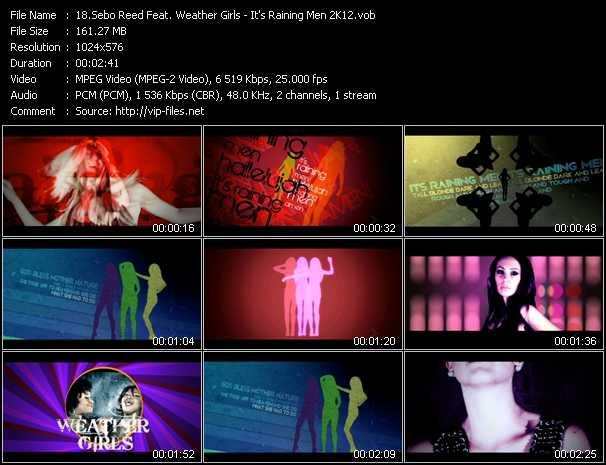 Sebo Reed Feat. Weather Girls - It's Raining Men 2K12