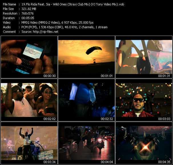 Flo Rida Feat. Sia - Wild Ones (Straxi Club Mix) (VJ Tony Video Mix)