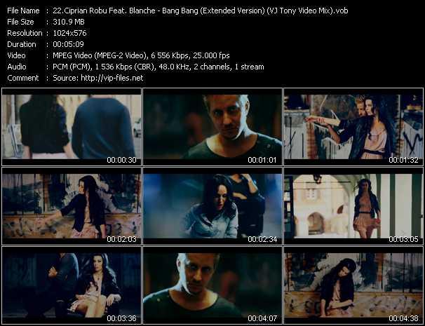 Ciprian Robu Feat. Blanche - Bang Bang (Extended Version) (VJ Tony Video Mix)