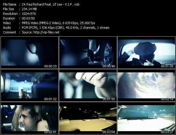 Paul Richard Feat. Lil' Lee - V.I.P.