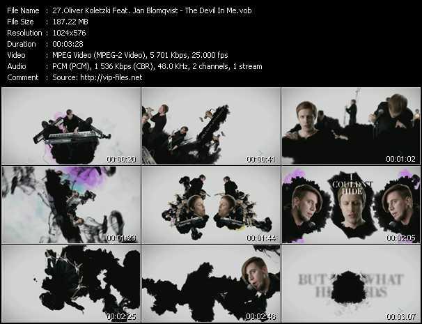 Oliver Koletzki Feat. Jan Blomqvist - The Devil In Me