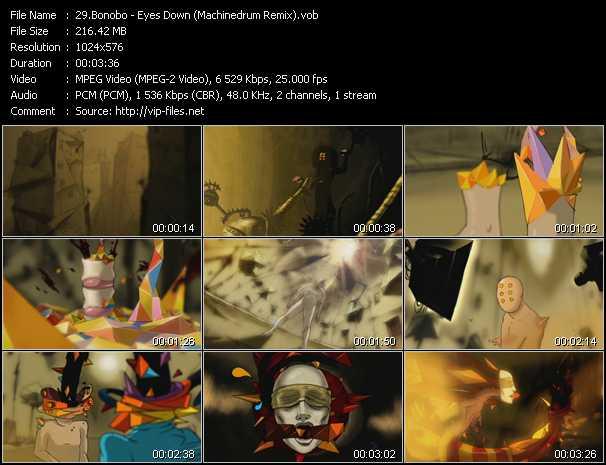 Bonobo - Eyes Down (Machinedrum Remix)