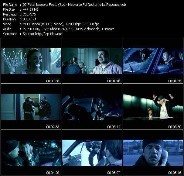 Fatal Bazooka Feat. Vitoo - Mauvaise Foi Nocturne La Reponse