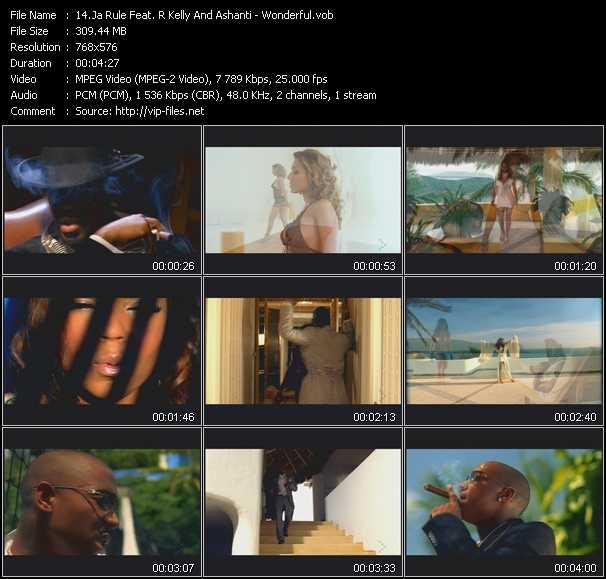 Ja Rule Feat. R. Kelly And Ashanti - Wonderful
