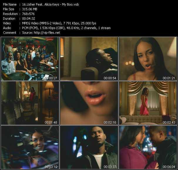 Usher And Alicia Keys - My Boo