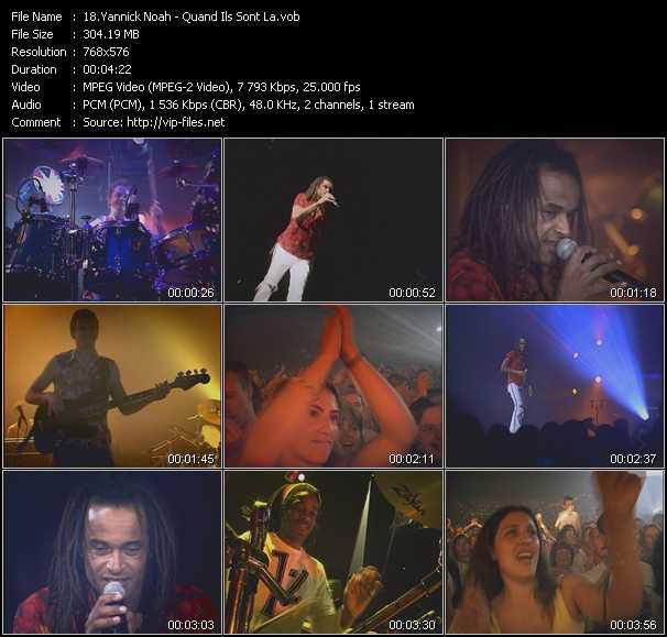 Yannick Noah - Quand Ils Sont La