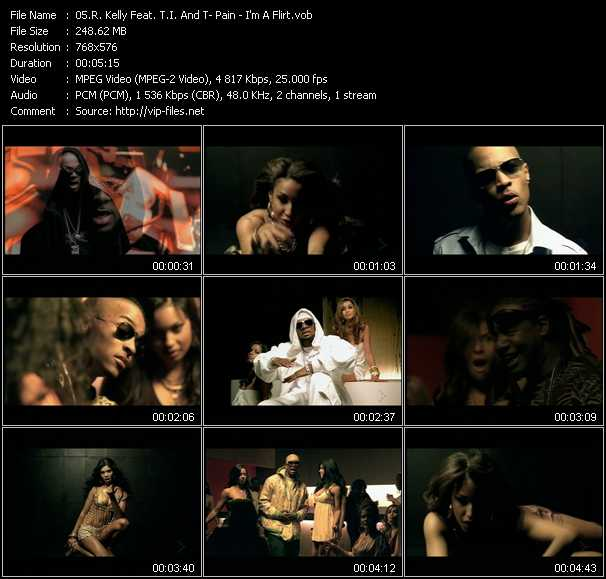 R. Kelly Feat. T.I. And T-Pain - I'm A Flirt