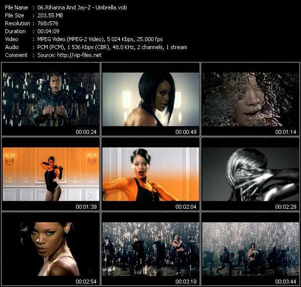 Rihanna And Jay-Z - Umbrella