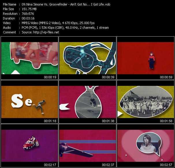 Nina Simone Vs. Groovefinder - Ain't Got No... I Got Life